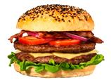 Hamburger 100 g x 72 stk