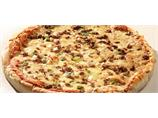 """Pizza prebaked med kvernet biffkjøtt 16"""""""