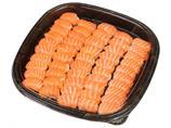 Sushi nigiri laks, 100 biter
