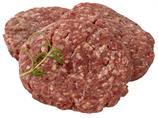 Sf hamburger rå 100% 100g ca 6kg/krt skj frys