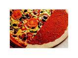 Amerikansk pizzabunn m/saus 40cm, rå